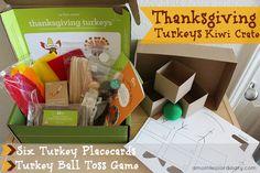 Thanksgiving Turkeys Kiwi Crate