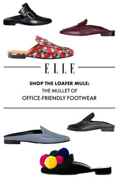 Shop the Loafer Mule  The Mullet of Office-Friendly Footwear fbfcb3272