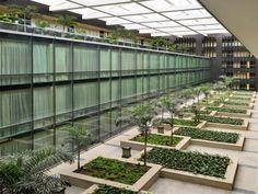 Beautiful Garden at Luxury Architecture Hotel Ideas