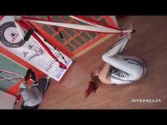 yogacreativo.com: Yoga Aéreo: AeroYoga® Restaurativo, Vídeo Ejercicio de Yoga Terapia para Cuerpo Mente en Suspensión