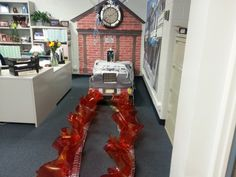 ... students and staff can stop by the office to view the decorations