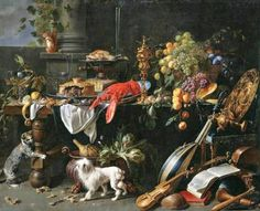 It's About Time: Inadvertently Sharing the Harvest - 1600s Food for hungry dogs, cats, monkeys, squirrels, & a random parrot