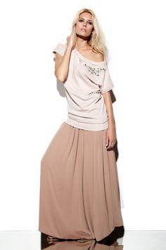 Lookbook S/S 2013 Gaudì - look 24 | Easy luxury Sweatshirt & Folk chic skirt