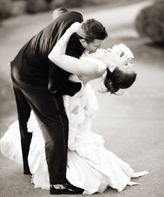 Cool wedding photo's