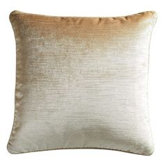 Add a touch of dramatic elegance with our velvet striped pillow featuring a self-piped border. Toss it on your bed, sofa or favorite accent chair to add a bit of sophisticated shimmer. A concealed zipper offers easy access to the included poly insert. Teal Pillows, White Pillows, Throw Pillows, Boho Chic, Luxe Decor, Thing 1, Rental Decorating, Red Rooms, Chair Pads