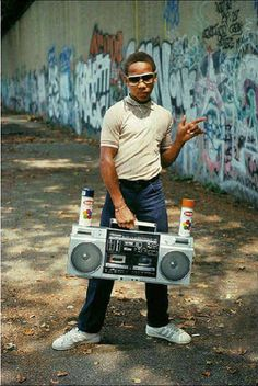 8. Carrying Around a Boombox - 80 Greatest '80s Fashion Trends | Complex