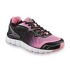 Fila Women's Memory Perpetual Black/Pink Running Shoe