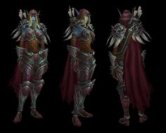 We're starting up another post on Legion models--so far we've got Paladin Tier 19 Mythic, Priest Tier 19 Mythic, Death Knight Mythic, and Demon Hunter PvP, as well as some new creature NPCs!  #Legion #Warcraft #WoW