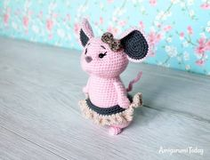 Crochet mouse - Free pattern by Amigurumi Today