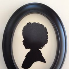 Check out Renowned Silhouette Artist Karl Johnson cutting Silhouettes! at University Village Shopping Center on May  2, 2014 @Peek Kids