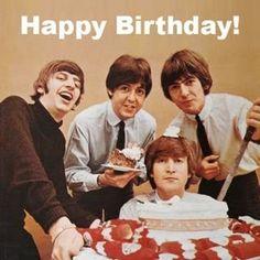 $4.95 - Beatles 25 - 8 X 10 Tee Shirt Iron On Transfer Happy Birthday #ebay #Home & Garden