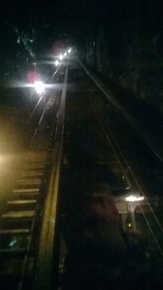 to venture the tunnels inside Trummelbachfalle a lift must be taken