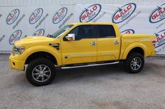 Ford Tonka Yellow F-150 truck