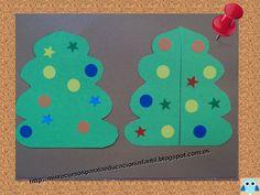 Recursos didácticos para la etapa de Educación Infantil: Árbol de Navidad