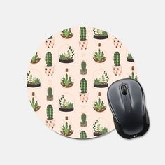 Dont know about you - but I love fun mousepads to brighten up my workspace!  This mousepad is 8 inches wide, features a stain resistant polyester fabric top, and a rubber non stick back.  Every mousepad is handmade in my studio with care and attention to detail.  See all of our mouse pads here: https://www.etsy.com/shop/fieldtrip?ref=l2-shopheader-name&search_query=mouse+pad