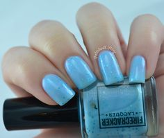 Brand: Firecracker Lacquer // Everyone I Love is Dead (2015) // Can Your Sword Cut Gold?// Blog: Polished Lifting