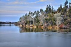 """Icy Lynx Lake in Prescott Arizona"" by K D Graves Photography   Redbubble Prescott Arizona, Lynx, Beverly Hills, Travel Mug, Instagram Images, River, Wall Art, Photography, Outdoor"