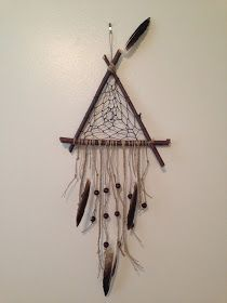 TWO WEEKS until we find out baby's gender!!! We are so excited!   Last week I posted a tutorial for a dream catcher I made if baby is a gir...