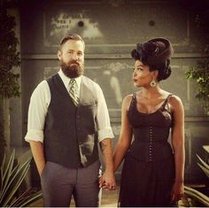 They are very cute together #interraciallove #BWWM #WMBW