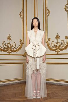 Givenchy Haute Couture Spring 2011.  Model - So Young Kang.