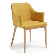 Καρέκλες   Kave Home Hampton Furniture, Dining Furniture, Dining Chairs, Arm Chairs, Fabric Armchairs, Interiors Online, Swinging Chair, Upholstered Chairs, Modern Chairs