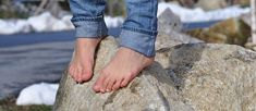 These exercises and self-massage techniques will help relieve pain and protect your feet and ankles for any activity. Walking Barefoot, Going Barefoot, Healing Plantar Fasciitis, Foot Exercises, Smooth Feet, Flexibility Workout, Ankle Flexibility, Ankle Mobility, Self Massage