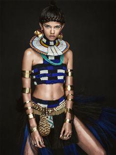 Vogue Australia April 2014 Model: Marina Nery Photographer: Sebastian Kim