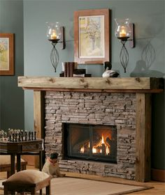 Fireplaces,Corn stoves, Wood Stoves