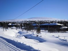 Saariselkä, Finland.  Cabins and activities in Saariselkä http://www.saariselka.com