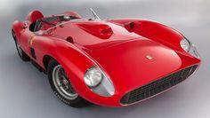 This 1957 Ferrari 335 Sport Scaglietti is the second most expensive car ever purchased at auction. #ferrari #scaglietti