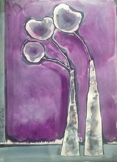 Modern Art Floral by Vyse