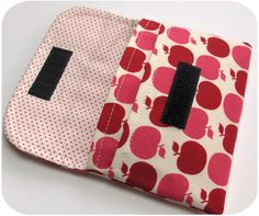 pdf pattern for basic wallet with 2 pockets $6