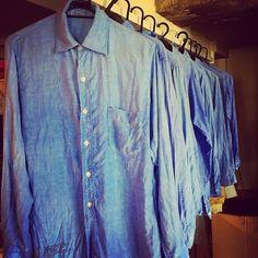 U.S AF oxford shirts 50's-60's ただいま洗濯中ですが、何しろ形がいい。 お勧めします。
