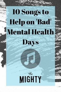 """When nothing else is there for me, these songs help pull me through."" #mentalhealth #mentalillness #playlist #musicheals #music"