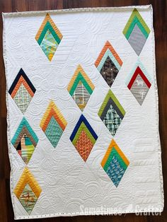 Improv Diamonds Quilt