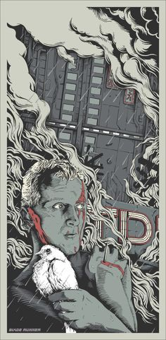 Movie Poster: Blade Runner by Joe Wilson