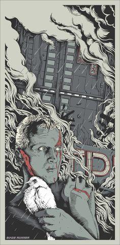 Movie Poster: Blade Runner by Joe Wilson