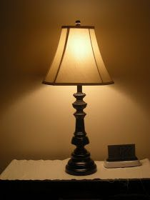 My Craft Projects: Lamp Makeover