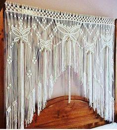 Butterfly Macrame Door Curtain Wedding Ceremony Backdrop Arbour Wall Hanging - picture for you Macrame Art, Macrame Projects, Etsy Macrame, Tab Curtains, Bed Drapes, Wedding Ceremony Decorations, Wedding Aisles, Wedding Backdrops, Wedding Ceremonies