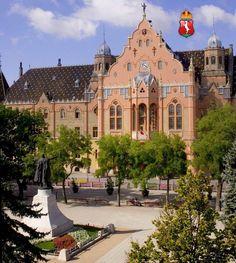 Te ismered ezeket a városokat? Tudod, hogy melyik megyében vannak? Great Plains, Art Nouveau Architecture, My Town, Budapest Hungary, Town Hall, Homeland, Mansions, Country, House Styles