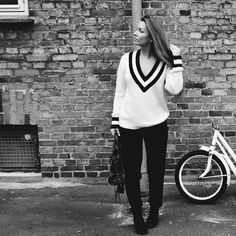 Anna Sprogøe spotted in Objkamille knit pullover on http://aboutstyle.bloggersdelight.dk/