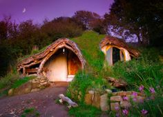 Hobbit home by Simon Dale