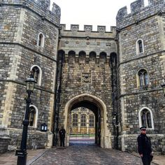 Exit from #WindsorCastle #England #travel