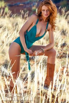 Cintia Dicker was photographed by Kayt Jones in  Namibia. Swimsuit by Lenny Niemeyer Swimwear.