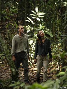 The Duke and Duchess of Cambridge in the Borneo Rainforest