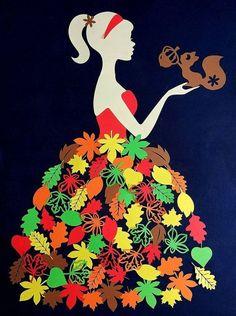 Autumn Crafts, Autumn Art, Paper Flowers Craft, Paper Crafts, Birthday Chart Classroom, Christmas Cubicle Decorations, Kindergarten Classroom Decor, Mushroom Crafts, Baby Girl Scrapbook