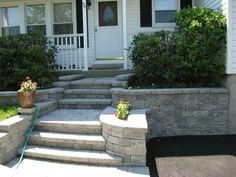 Stone Front Steps | stones