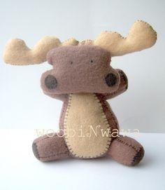 felt moose