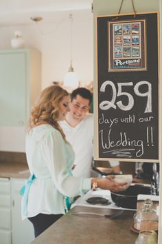 days until your wedding. :) Sweet e shoot by @Ros Koch Photo Wedding Photography