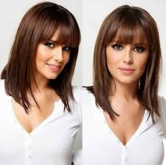 Hairstyles 2015, Long Bob Hairstyles For Thick Hair 2015: Trendy Long Bob Hairstyles 2015